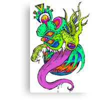 Dragon Head Canvas Print