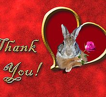 Thank You Bunny Rabbit by jkartlife