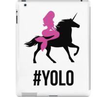 YOLO Unicorn iPad Case/Skin