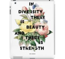 In Diversity   iPad Case/Skin