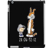 Darko & Hobbes Sticker iPad Case/Skin