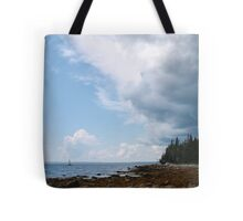 Outrun the storm Tote Bag