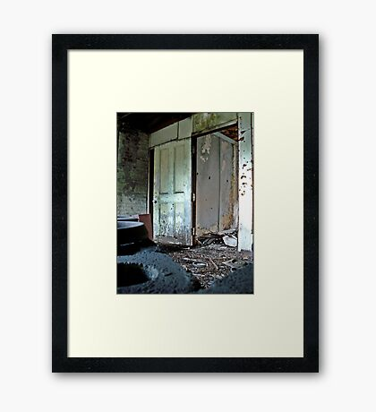 Rubber Circles Framed Print
