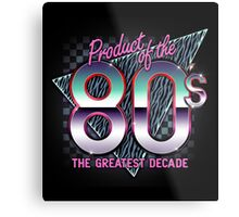 The Greatest Decade Metal Print