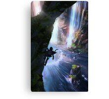 Zora's Domain Legend of Zelda Canvas Print