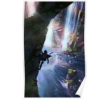 Zora's Domain Legend of Zelda Poster