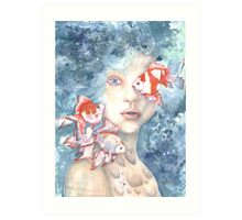 Under the Water and Dreaming Art Print