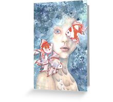 Under the Water and Dreaming Greeting Card