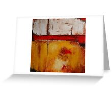 Abstract 2013_3 Greeting Card
