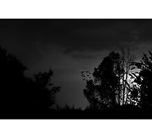Bat Lightning Photographic Print