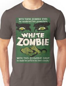 Cool White Zombie Film Poster Unisex T-Shirt