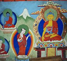 Ancient Painting, Thare Gompa, Nepal by wiggyofipswich