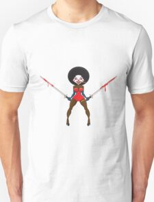 A scary evil clown. T-Shirt