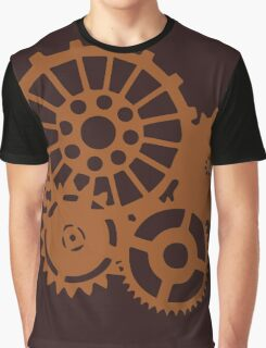 Steampunk Gears Graphic T-Shirt