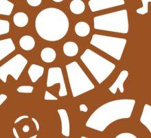 Steampunk Gears Sticker