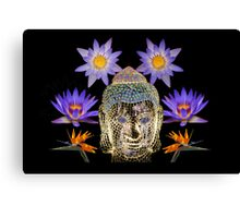 Water Lily Dreaming Canvas Print
