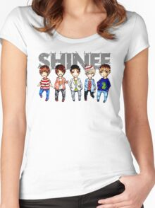 Shinee Women's Fitted Scoop T-Shirt