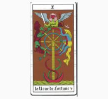The Wheel of Fortune Tarot Card by cadellin