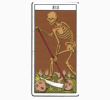 Death Tarot Card by cadellin