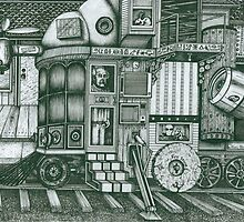 A Traveling Cabinet of Curiosities by Richie Montgomery