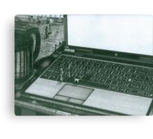 Laptop Canvas Print