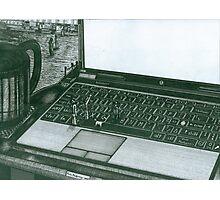 Laptop Photographic Print