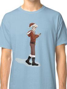 Hipster Santa Classic T-Shirt