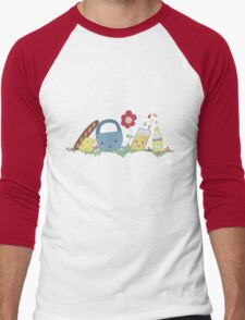 Pack a Picnic Men's Baseball ¾ T-Shirt
