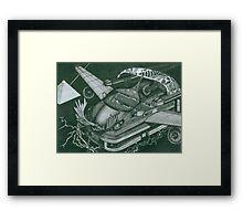 Honda Fit Framed Print