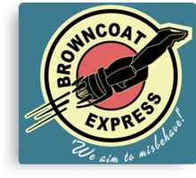 Browncoat Express Canvas Print