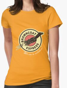Browncoat Express Womens Fitted T-Shirt