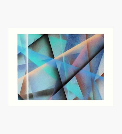 Folds and Creases Art Print