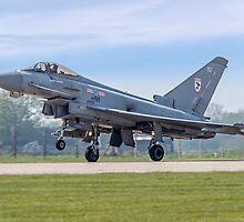 Eurofighter Typhoon F.2 ZJ911/BZ by Colin Smedley
