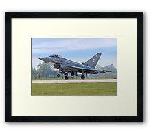 Eurofighter Typhoon F.2 ZJ911/BZ Framed Print