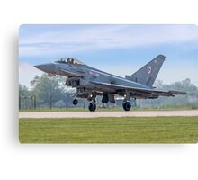 Eurofighter Typhoon F.2 ZJ911/BZ Canvas Print