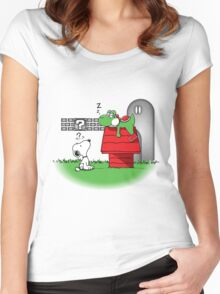 Wrong Doghouse Women's Fitted Scoop T-Shirt