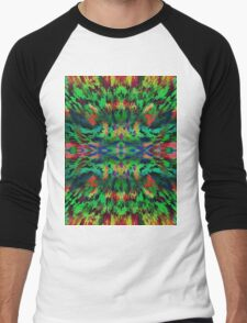 Virtual Psychedelic Space Men's Baseball ¾ T-Shirt