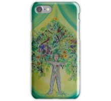 The Everything Tree Oil Drop iPhone Case/Skin