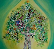The Everything Tree Oil Drop by tamzen