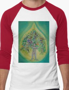 The Everything Tree Oil Drop Men's Baseball ¾ T-Shirt