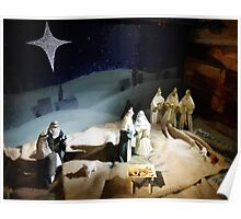 The Nativity Scene  Poster