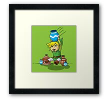 Lil' Pot Smasher Framed Print