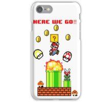 Here we go Mario iPhone Case/Skin