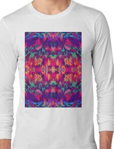 Virtual Psychedelic Space Long Sleeve T-Shirt