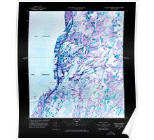 USGS Topo Map  Vermont VT Highgate Springs Port Of Entry 337759 1977 25000 Inverted Poster