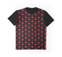 Undertale Pattern Graphic T-Shirt