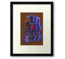 Demon and Child Framed Print