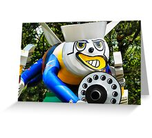 The Fighting Bee Statue - SeaBee Museum  Greeting Card