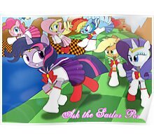 The Sailor Ponies! Poster