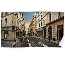 Parisian Streets Poster